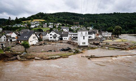 Най-малко 59 са загиналите при наводнения в Германия