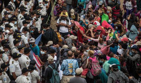 Спряха керван от 7000 мигранти, отправили се към САЩ - 1