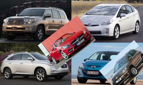 Шест употребявани коли, които няма да ви подведат на дълъг път