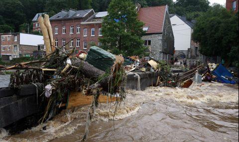 Белгия: Над 10 милиарда евро са щетите от наводненията