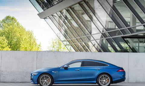 Mercedes обнови AMG GT 4-Door Coupe за 2022 година - 7