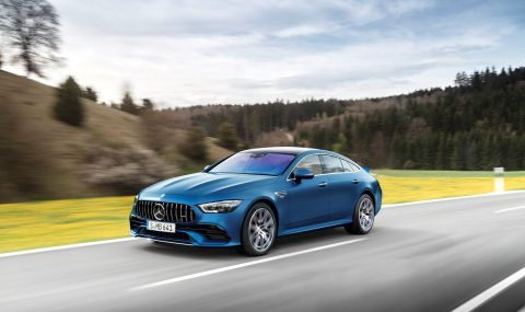 Mercedes обнови AMG GT 4-Door Coupe за 2022 година - 1