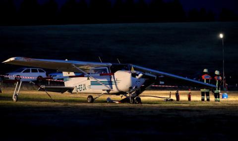Разби се самолет, претоварен с кокаин
