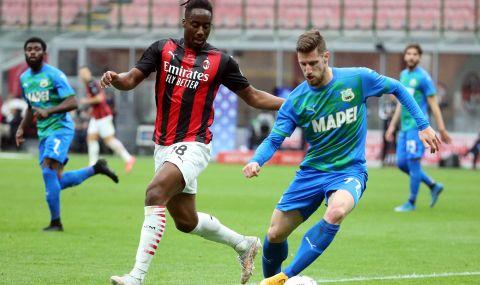 Милан се издъни срещу Сасуоло (ВИДЕО)