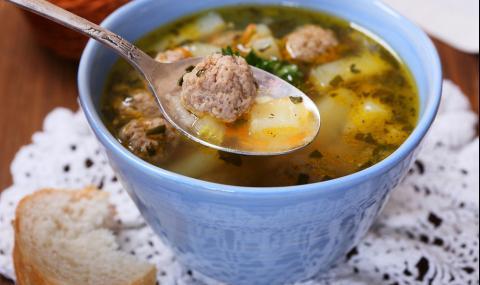 Рецепта за вечеря: Супа топчета