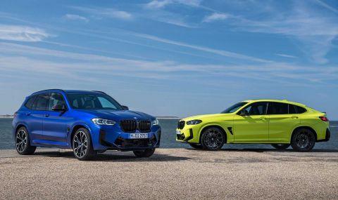 BMW X3 и X4 също получиха фейслифт - 1