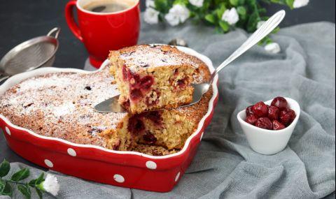 Рецепта на деня: Селски черешов сладкиш
