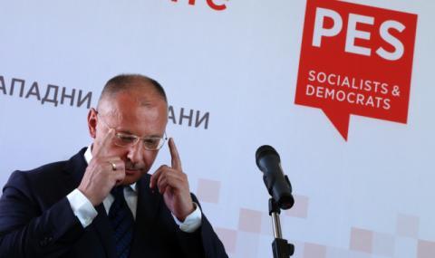 Станишев се отказа от номинацията му за председател на Европарламента
