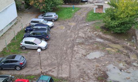 За месец: Глобиха над 100 шофьори за паркиране на тревата в София