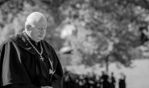 Почина Великият магистър на Малтийския орден