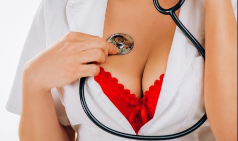 Коя е голата медицинска сестра, прочула се с облеклото си (СНИМКИ)