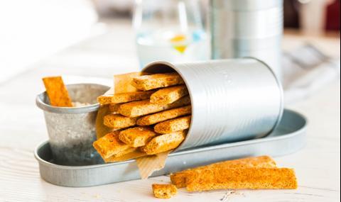 Рецепта за вечеря: Овесени пръчици с кашкавал
