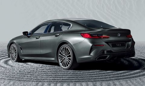 BMW показа колекционерска 8-Series Gran Coupe - 5