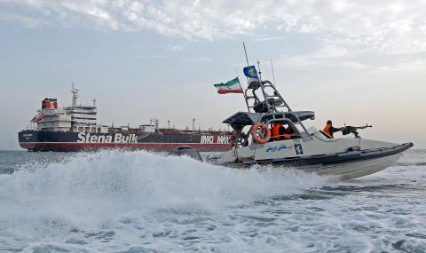 Иран освобождава задържания танкер