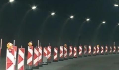 """Авария спря тока в тунел """"Кривия"""" в Кресненското дефиле"""