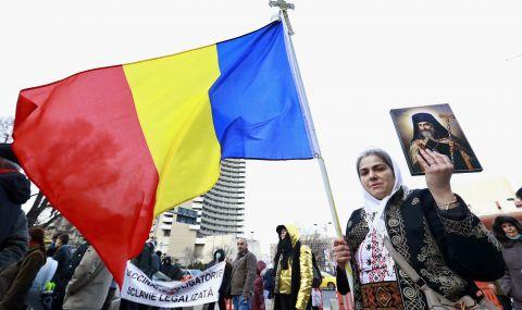 """Румъния: С разпятия и икони срещу """"имунизационния геноцид"""" - 1"""