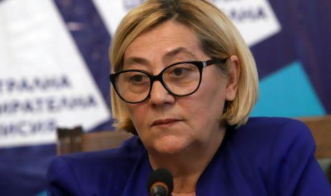 Таня Цанева, ЦИК: Подписваме договора за машините до ден-два