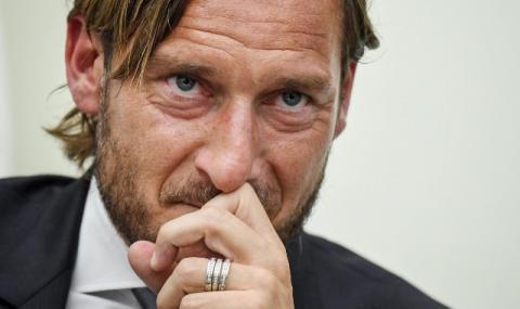 Тоти напусна Рома с голям скандал