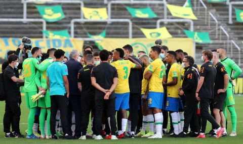 ФИФА предприе първи действия след скандала на мача Бразилия - Аржентина - 1