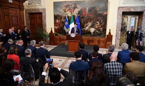 Камарата на депутатите в Италия също одобри правителството на Марио Драги