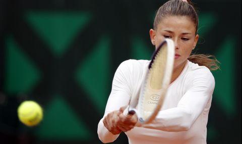 Италианска тенисистка нагорещи страстите (СНИМКА)