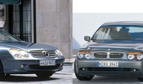 Какви коли правеха BMW и Mercedes преди 20 години - 1