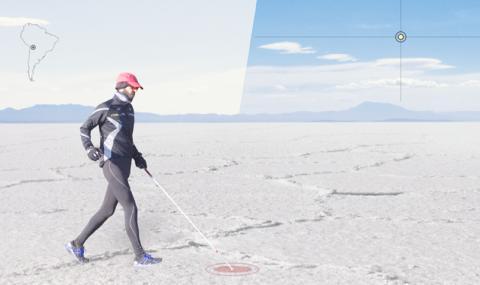 Незрящ френски учител прекоси най-голямата солна пустиня в света