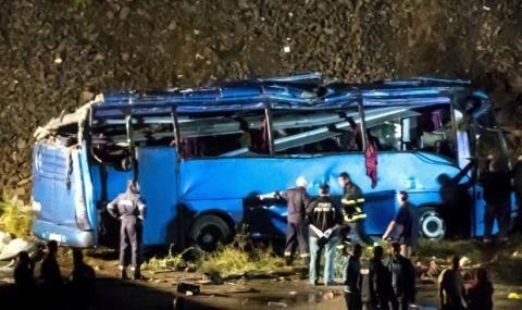 Съдът даде ход на делото за катастрофата с автобусa край Своге