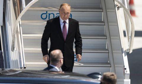 Путин пристигна в Женева