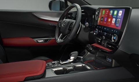 Lexus показа обновения NX с първото за марката plug-in хибридно задвижване - 11