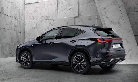 Lexus показа обновения NX с първото за марката plug-in хибридно задвижване - 3