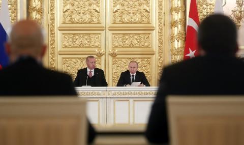 Ердоган иска спешно да говори с Путин