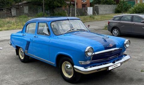 Продава се 55-годишна Волга в перфектно състояние