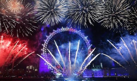 Лондон без фойерверки за Нова година