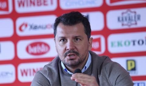 Треньорът на ЦСКА: Спазваме всички мерки на Щаба, всичко друго е спекулация