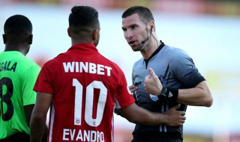 Кабаков ще свири мач на Рома от Лига Европа