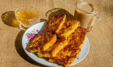 Рецепта на деня: Пържени филийки от сух козунак