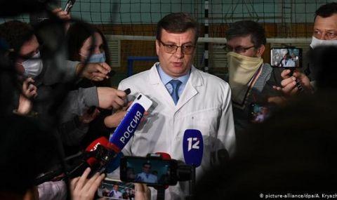 Намери се лекарят на Навални, който няколко дни бе в неизвестност