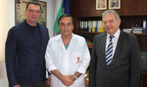 Калоян Паргов в ИСУЛ: Медиците заслужават поклон за смелостта и за работата, която вършат