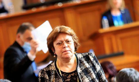 Татяна Дончева за обвиненията на Тошко Йорданов: Това са абсолютни бълнувания - 1