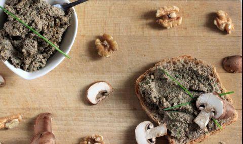 Рецепта за вечеря: Пастет от гъби и леща