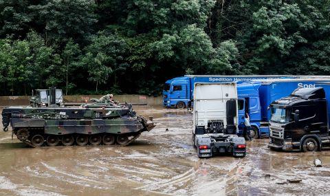Германия: Потоп, свличания на земни маси, човешки жертви