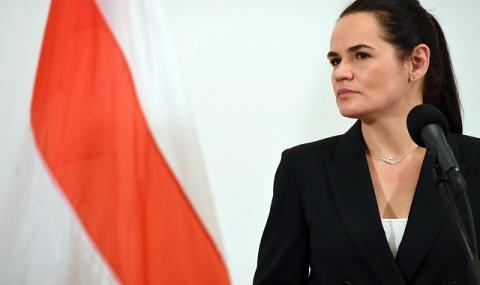 Външните министри на ЕС се срещат с беларуската опозиционерка Светлана Тихановска