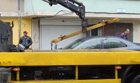 Паяк размаза кола при опит да я вдигне в София (СНИМКА) - 1