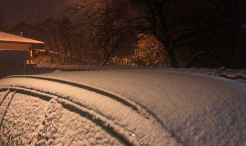 Жълт код за снеговалеж и виелици в цялата страна