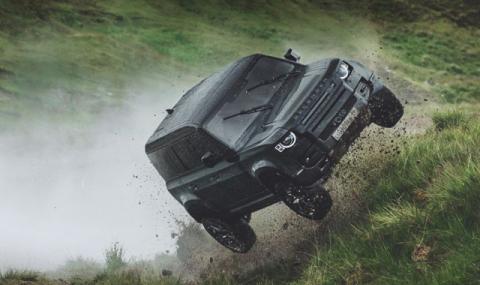 Какво може Land Rover Defender (неизлъчвани кадри)