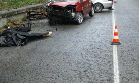 Челен сблъсък с двама загинали на пътя Банско – Гоце Делчев - 1