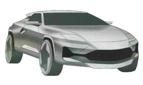 В Русия патентоваха мистериозно крос-купе