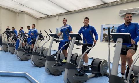 Черно море тренира във фитнеса (ВИДЕО)