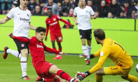 Леверкузен с втора поредна победа, свали Мьонхенгладбах от Топ 3 на Бундеслигата